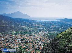 Image result for paralia sykia greece Greece, River, Mountains, Nature, Outdoor, Image, Greece Country, Outdoors, Naturaleza
