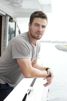 Oliver Queen!!! I mean, Stephen Amell :D