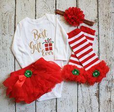 e36872793c09 BABY GIRL CHRISTMAS outfit-xmas outfit-Christmas Set