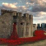 888,246 Ceramic Poppies Flow Like Blood from the Tower of London to Commemorate Britain's Involvement in WWI