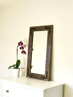 107 best rustic mirrors framed bathroom mirrors handmade mirrors rh pinterest com