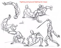 fight poses reference - Buscar con Google