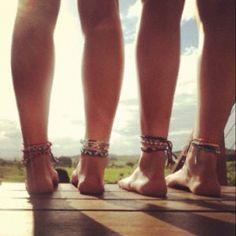 Ankle bracelets <3