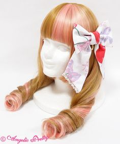 Angelic Pretty Wrapping Cherryリボンクリップ