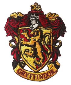 Harry Potter Gryffindor Fancy Dress Costume Iron ON Badge Patch | eBay