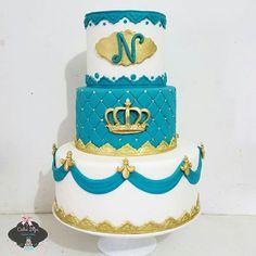 #mulpix prince cake ♡ porque todo menino tem um pouco de principe encantado ♡   #boloprincipe  #pincecake  #bolorealeza  #festaprincipe  #principe  #prince  #boy  #baby  #kids  #festademenino   #festejarcomamor   #encontrandoideias   #loucasporfesta  #bolosdecorados   #bolofofo  #kidsparty  #festa  #myboy  #maexoruja  #instacake  #instagram  #riodejaneiro  #cake  #amazingcake  #Renan  #segue  #festanamaternidade