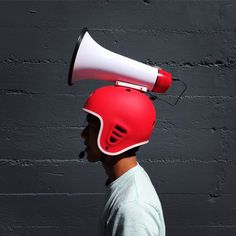 A must-have for shouting on street corners!
