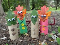 Fall Craft Fun! Easy-Peasy Autumn Crafts to Make with Your Kids  - Definitely going to do this during the fall for a steamin' day