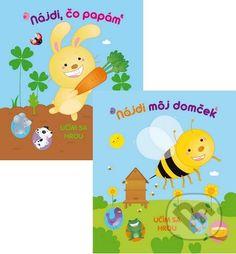 Martinus.sk > Knihy: Nájdi môj domček + Nájdi, čo papám (kolekcia 2 leporiel)