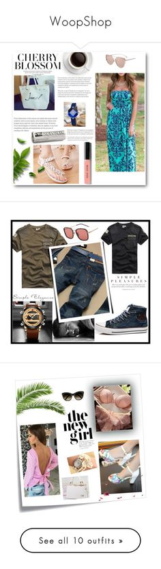 """""""WoopShop"""" by munja92 ❤ liked on Polyvore featuring Bobbi Brown Cosmetics, men's fashion, menswear, Post-It, Chloé, T&C Floral Company, Allstate Floral, vintage and Vera Wang"""