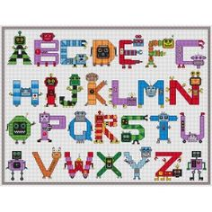 Robots alphabet