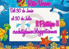 Reto verano http://crochetydemos.blogspot.com/2014/06/presentacion-reto-tejuntasblogger-1er.html