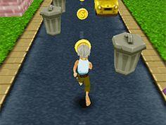 Jouer au jeu gratuit Grandpa Run 3D