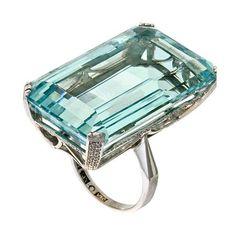 Image result for kirstie allsopp aquamarine ring
