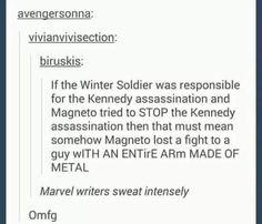 Wow, it's good Fox isn't letting their characters in the MCU [sweatdrop] || lol