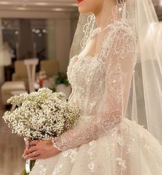 Image about fashion in royal wedding by H. Pretty Wedding Dresses, Wedding Dress Sleeves, Perfect Wedding Dress, Designer Wedding Dresses, Pretty Dresses, Bridal Dresses, Wedding Makeover, Dress Vestidos, Beautiful Gowns