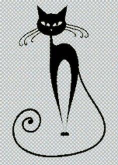 """Le régime broderie """"chat"""" - Plans auteur «GoodMommy» - Point de Croix"""