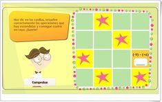 """""""Cuatro en raya de números enteros"""" (Juego de Matemáticas) Frame, Peek A Boos, Maths Area, Math Games, Teachers, Picture Frame, Frames"""
