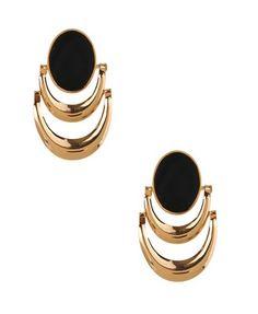 interesting retro earrings, but cool
