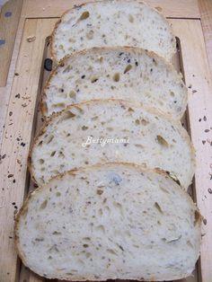 Sokmagvas kefíres kovászos fehér kenyér | Betty hobbi konyhája Cookies, Breads, Gardening, Foods, Fimo, Crack Crackers, Bread Rolls, Food Food, Food Items