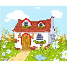 Haus baustelle clipart  cute house clipart - Google Search | vintage photos | Pinterest
