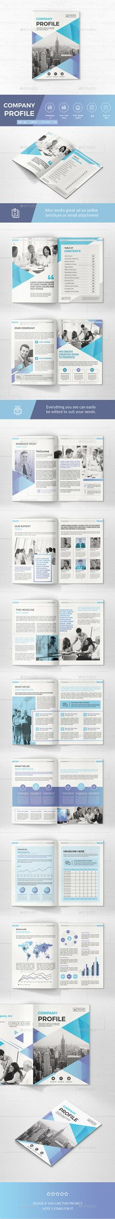 Company Profile Company profile, Corporate brochure and Brochures - company profile sample download