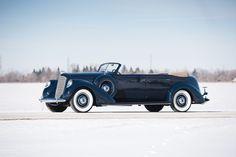 1937 Lincoln Model K Convertible Sedan by LeBaron (363-A)