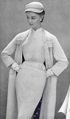 1955 Pierre  Balmain                                                                                                                                                                                 More