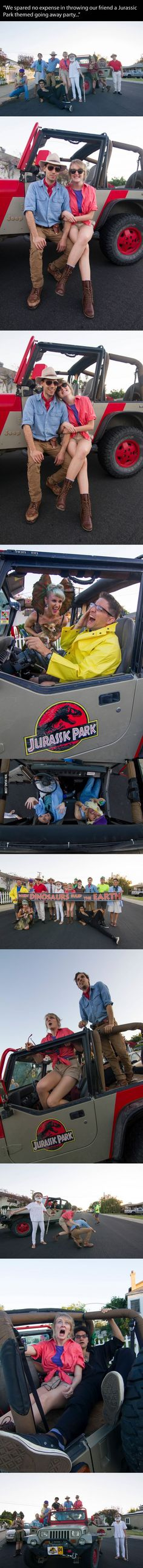 Awesome Jurassic Park Themed Party!