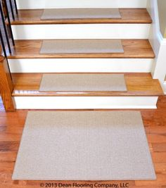 Dean Non Slip Tape Free Pet Friendly DIY Carpet Stair Treads/Rugs 27