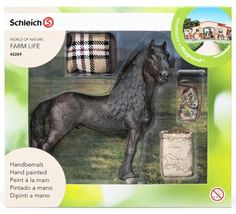 EXCLUSIVE-SCHLEICH-42269-FRISIAN-HORSE-CARE-SET-GIFT-BOX-SPECIAL-EDITION-2015