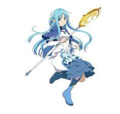 Sword Art Online - ALO healer Asuna Sword Art Online Alo, Online Art, Desenhos Love, Accel World, Kirito Asuna, Familia Anime, Image Manga, Cosplay, Kawaii Anime