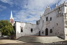Mesericórdia Church - Mozambique Island Stock Image - Image of buildings, boat: 53389747 Portuguese, African, Boat, Indian, Island, Stock Photos, World, Building, Travel