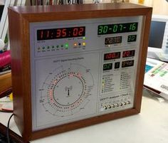 DCF77 Analyzer/Clock v2.0 © GPL3+ Visualize the DCF77 radio signals with this clock. It also tell you the time.
