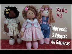 Aula #3 VESTIDO Rápido e Fácil de Bonecas - YouTube