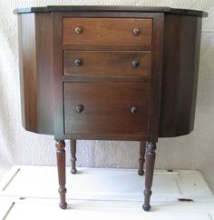 Antique Martha Washington sewing cabinet, lucky enough to own one ...