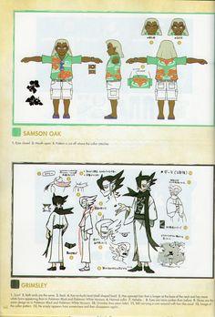 Pokémon Sun/Moon - Samson Oak and Elite Four Grimsley