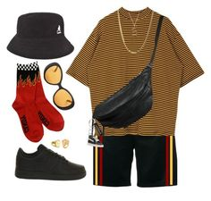 Untitled #356 by youraveragestyle on Polyvore featuring Givenchy, kangol, NIKE, Moschino, Vans, Sarah Chloe, Kenzo, Luna Skye, Yvonne Koné and men's fashion