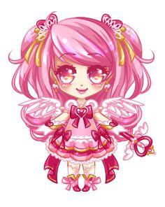 Magical Pink Sugar: Stage 5 by RaineSeryn.deviantart.com on @deviantART