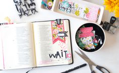 Illustrated Faith You Are Loved collection. Bible Journaling by Jamie Pate.