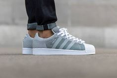 """The tried-and-true Superstar is the latest sneaker to get a woven makeover thanks to the introduction of the aptly named Superstar Weave from adidas Originals. Debuting in a """"Clear Grey"""" colorway, the..."""