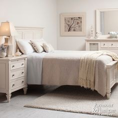 Refresh Your Look | Go all white to give your bedroom a feeling of serenity that you'll savor around the holidays.
