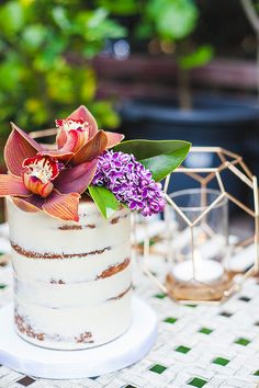 Sharon from Wedding Day Pa's Bridesmaid Proposal garden party. Catering by Create Catering. Cake by Miss Ladybird Cakes, Flowers: Botanics Of Melbourne, Invitations & Stationery: Adelphi Mou. Photos by Kad Photography via Polka Dot Bride