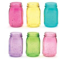 ball colored mason jars |  straws and mason jars mason jars