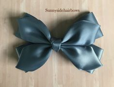 Antique Blue Boutique hairbow, Antique Blue Hair Bow Clip, Large Blue hair bows, Girls Big Blue bows, Blue ponytail bow, Blue hair accessory by SunnySideHairBows on Etsy Blue Hair Bows, Flower Hair Bows, Handmade Hair Accessories, Wedding Hair Accessories, School Hair Bows, Holiday Hair Bows, Rainbow Bow, Special Occasion Hairstyles, Flower Girl Hairstyles