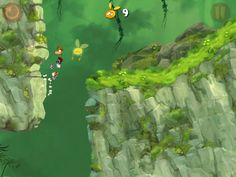 rayman origins background art - Google Search