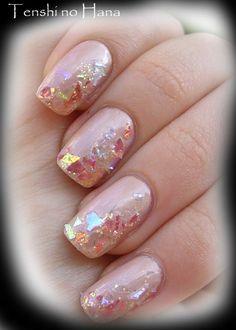 Texture from shard type glitter/flakies