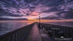 12/19/13 sunrise on Johnny Mercer pier - #wrightsvillebeach #wb - www.AimeeSellsHomes.com