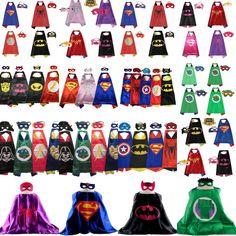 Capa de superhéroe. (1) Cape +1 Máscara para Niños Cumpleaños Cotillón e ideas | Ropa, calzado y accesorios, Disfraces, teatro, representación, Accesorios | eBay!