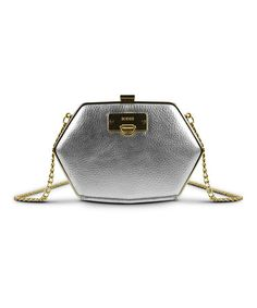 Take a look at this Silver Diamond Clutch by BODHI on #zulily today!